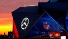Todo listo para el Super Bowl en Atlanta