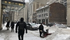 La nieve genera caos en autopista de Canadá