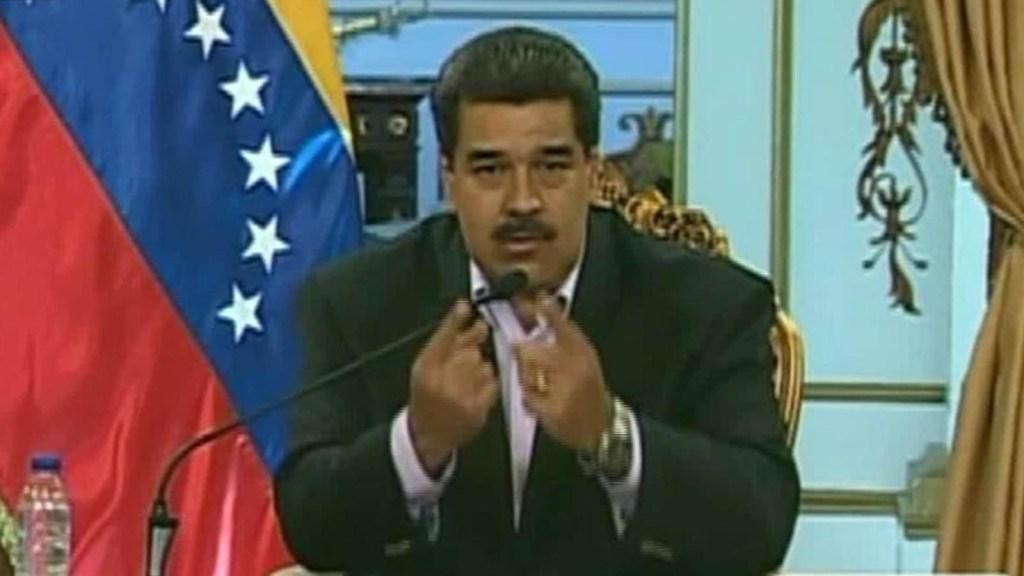 Maduro a Trump: La sangre que pueda correr en Venezuela estará en sus manos