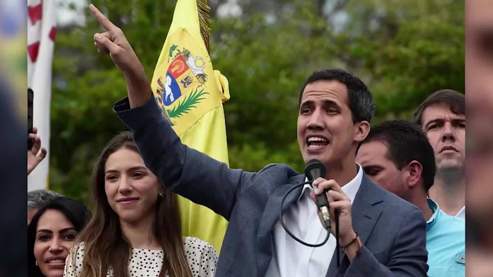 Las Fuerzas Armadas son la clave para la salida de Maduro, dice Guaidó