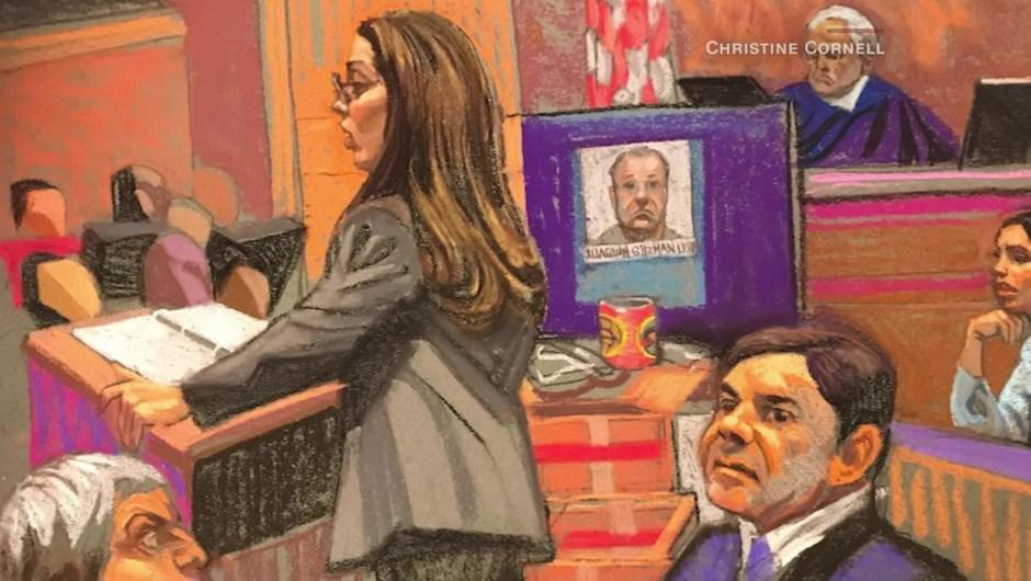 Fiscal en el juicio del Chapo: Las propias palabras de Guzmán lo han hundido