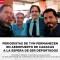 Regresan a Chile los periodistas detenidos en Venezuela
