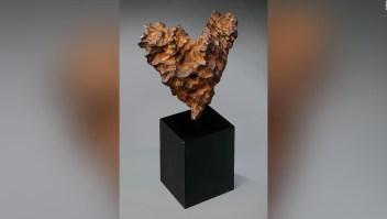 Un meteorito en forma de corazón como regalo de San Valentín
