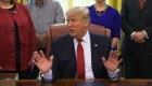 Trump: El muro se esta construyendo ahora mismo