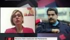 """Beatriz Becerra: """"Maduro no tiene otro estatus que el de usurpador"""""""