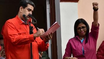 Nicolás Maduro y Delcy Rodríguez