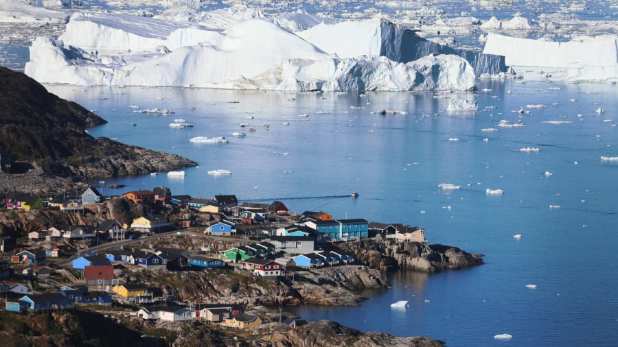 glaciar cambio climático derretimiento