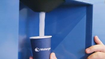 Esta tecnología convierte aire en agua potable