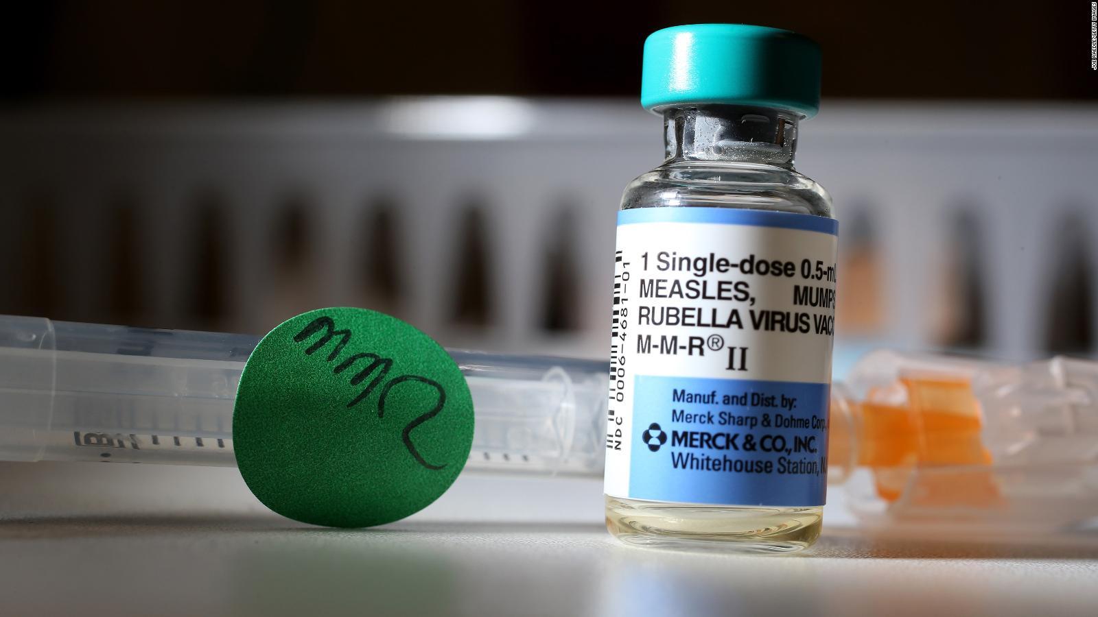 Cientos de casos de brotes de sarampión en EE.UU.
