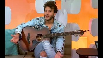 El cantante Sebastián Yatra visita Café CNN