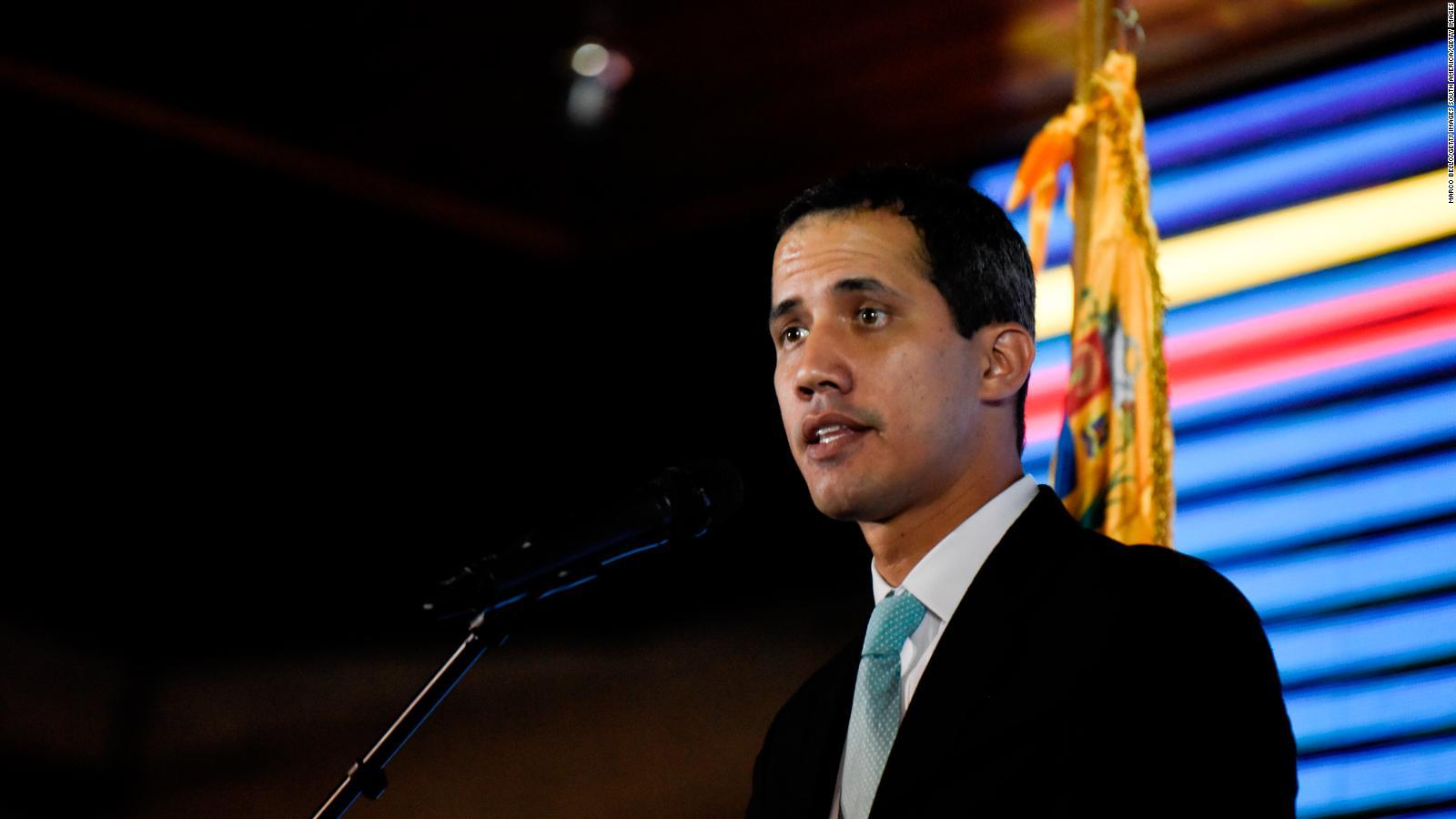 Guaidó dice que PDVSA seguirá siendo estatal tras el cambio de régimen
