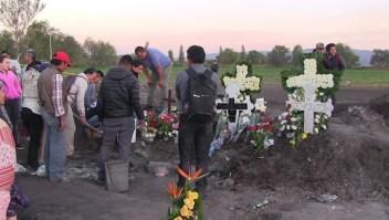 Tlahuelilpan aún llora a sus muertos a 15 días de la explosión