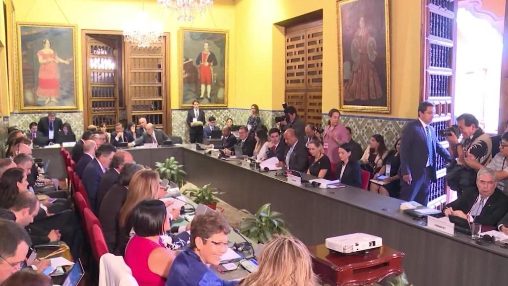 Grupo de Lima se reúne en Canadá para discutir crisis de Venezuela