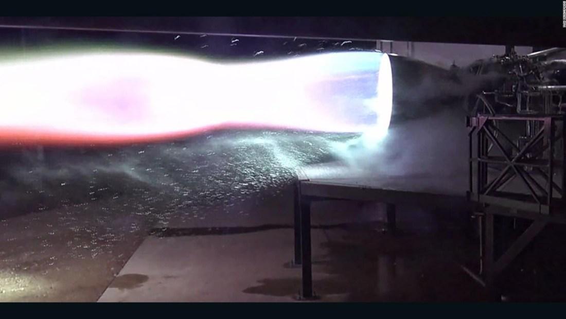 El nuevo motor que presenta Elon Musk para naves espaciales