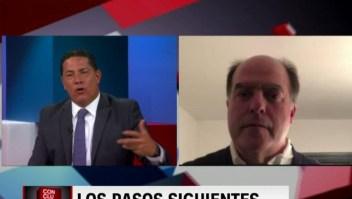 Julio Borges: La ayuda humanitaria debe sacudir la conciencia de las Fuerzas Armadas