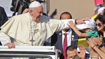 Así fue la primera misa de un papa en la península arábiga