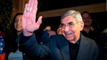 Protestas contra el expresidente Oscar Arias
