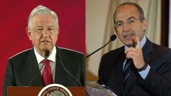 López Obrador pide disculpas a expresidente Calderón
