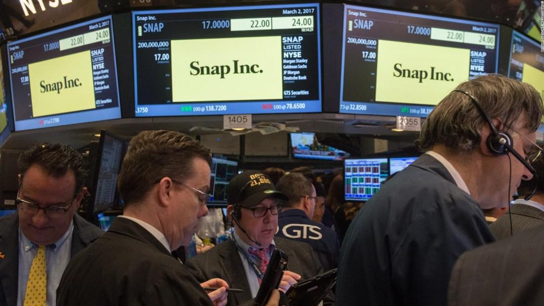 Snap sorprende a los inversionistas