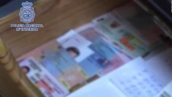 Desmantelan laboratorio de falsificación de documentos en Madrid