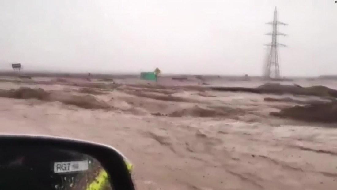 Cientos de evacuados en Chile por inundaciones