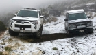 Clima extremo causa nevada en Hawai