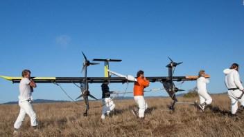 Energía eólica para volar