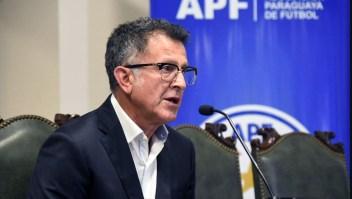 Malestar en Paraguay por la salida de Juan Carlos Osorio