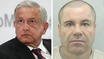 López Obrador visita la tierra del Chapo