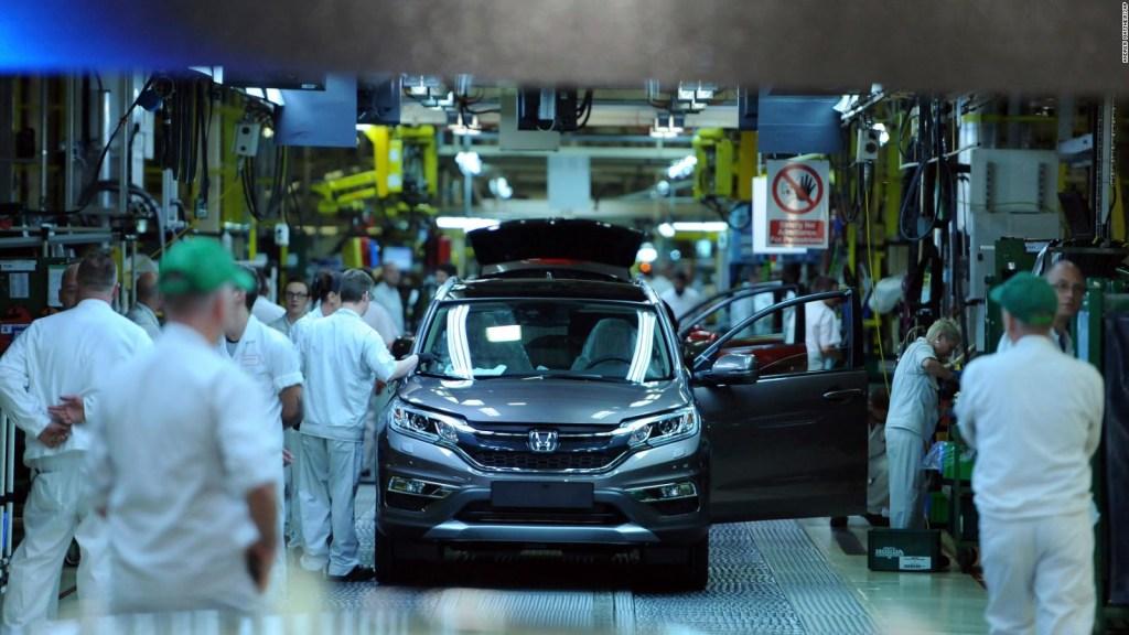Honda planea cerrar planta en Inglaterra