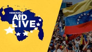 Artistas que participarán en el Venezuela Aid Live