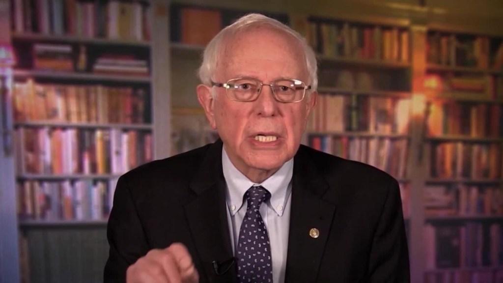 Bernie Sanders confirma aspiración presidencial para 2020