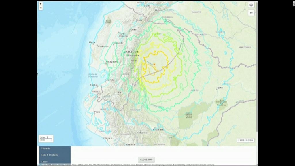 Sismos estremecen Ecuador