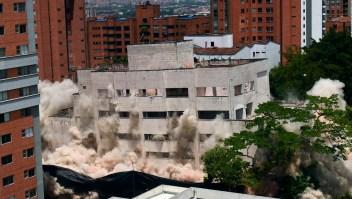 Dinamitan edificio de Pablo Escobar
