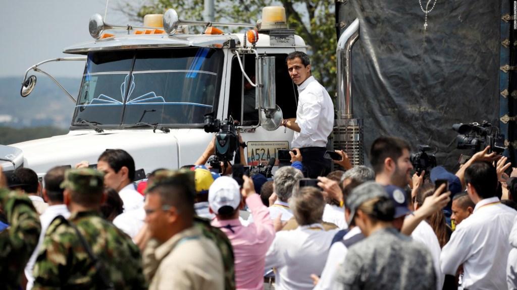 Cruz Roja en la entrega de la ayuda humanitaria a Venezuela