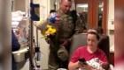 Militar sorprende a su esposa en el hospital