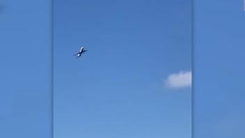 Fuertes vientos sacudieron un avión de British Airways