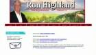 Ron Highland se retira de proyecto de ley