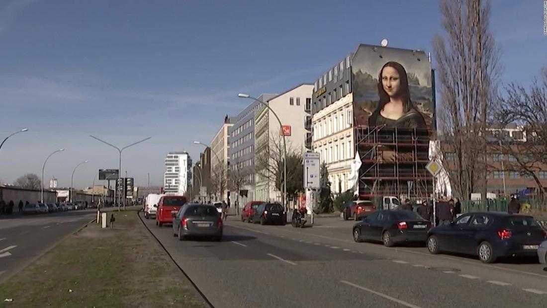 Si quieres ver una Mona Lisa gigante debes ir a Berlín