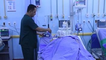Venezolanos heridos son atendidos en Roraima