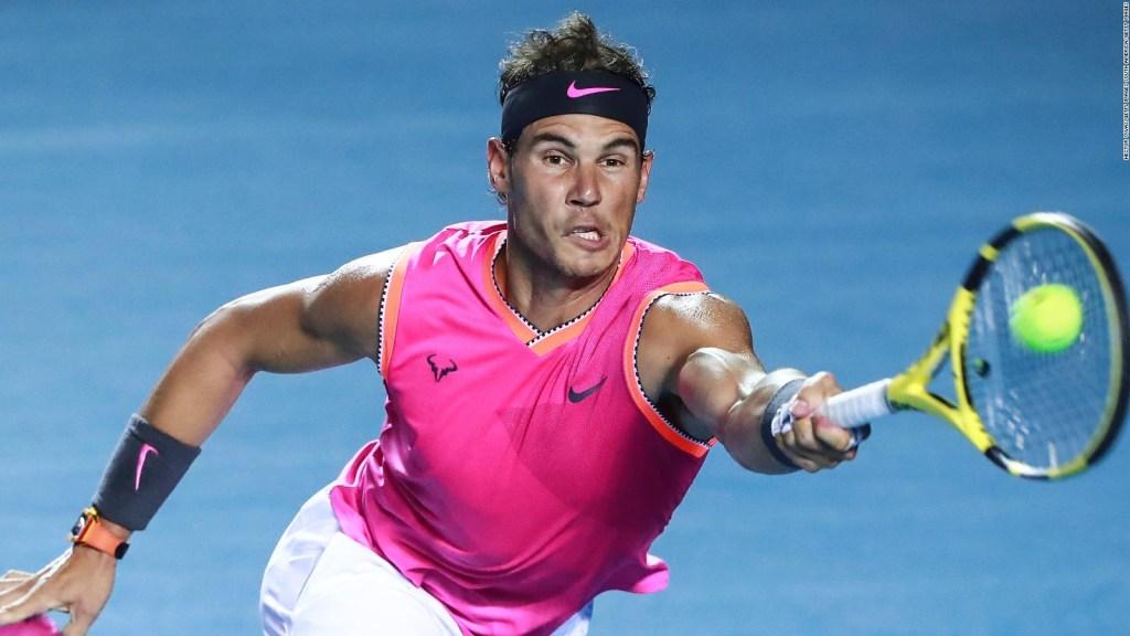 Así vivieron sus partidos Nadal y Ferrer en Acapulco