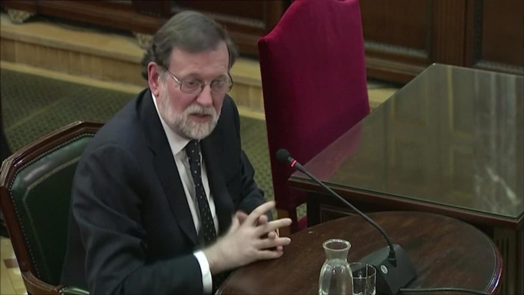 Rayoy y Sáenz, dos figuras clave en juicio a independentistas