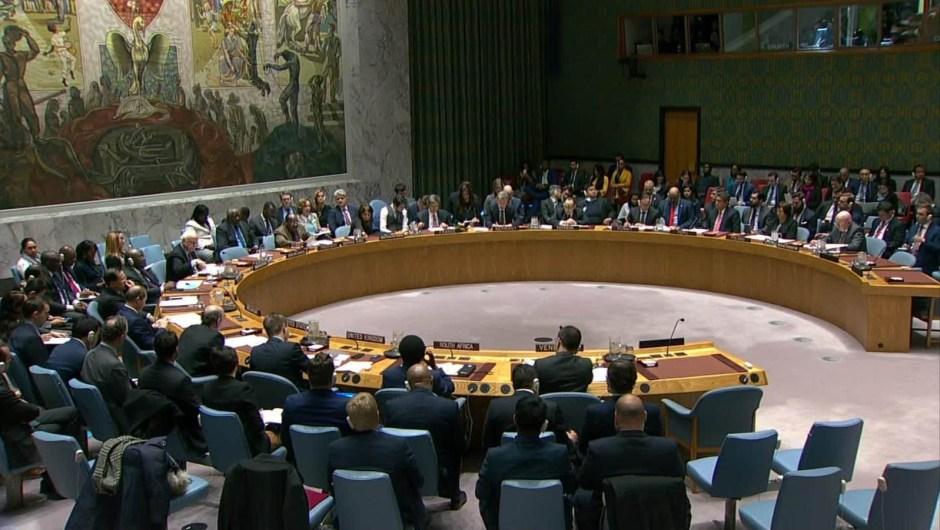 EE.UU. pide en la ONU una votación sobre Venezuela