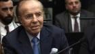 Absuelven a expresidente Carlos Menem por caso AMIA