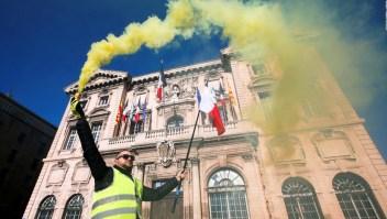 Despliegue de militares por protestas de chalecos amarillos