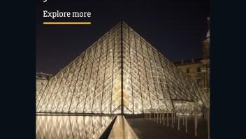 #ElDatoDeHoy: la pirámide del museo Louvre de París celebra 30 años