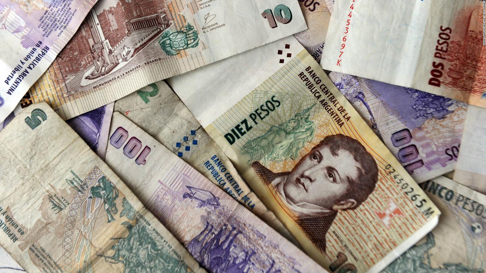 Argentina: Volatilidad del peso frente al dólar