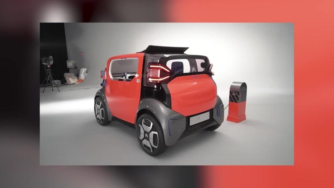 Citroën presenta mini auto eléctrico