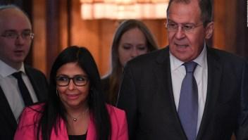 Delcy Rodríguez viaja a Rusia para fortaceler lazos de cooperación