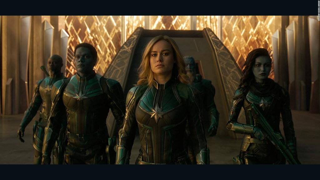 """""""Captain Marvel"""" en camino a ser la cinta más taquillera de 2019 en EE.UU."""